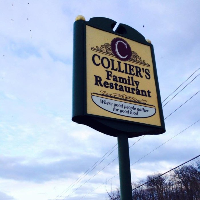 10. Collier's Family Restaurant (Springfield)