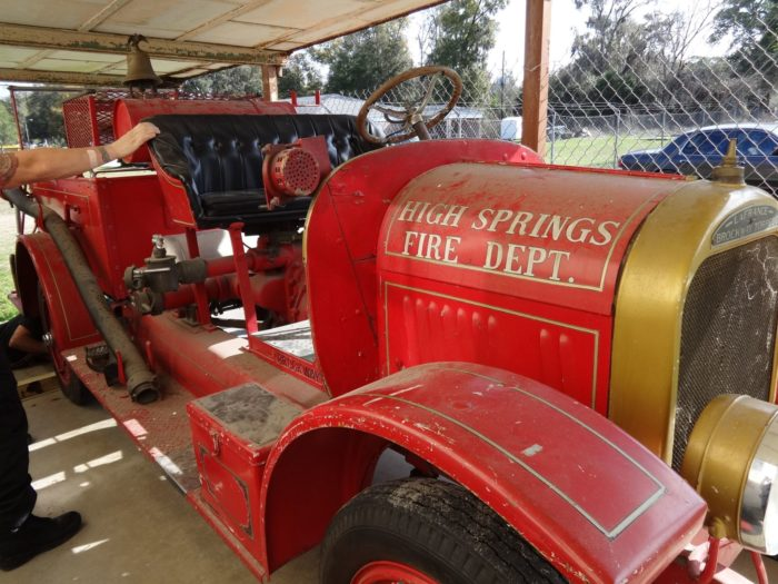 Other artifacts on display give a glimpse into the past, from everyday household tools to this 1924 fire truck.