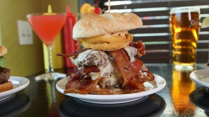 2. The Plymouth Rock (KKatie's Burger Bar, Plymouth)