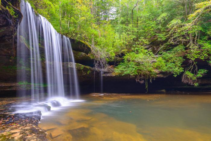 2. Upper Caney Creek Falls