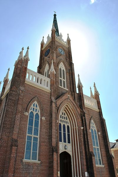 Among the beautiful historic buildings that fill Natchez is St. Mary Basilica.