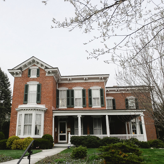 Wake each morning in the Victorian charm of an 1875 Bed & Breakfast at the Chancellor's House.