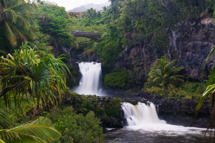 11. Hang out in the stunning pools at Oheo Gulch.