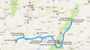 This Natural Wonders Road Trip Will Show You Kentucky Like You've Never Seen It Before