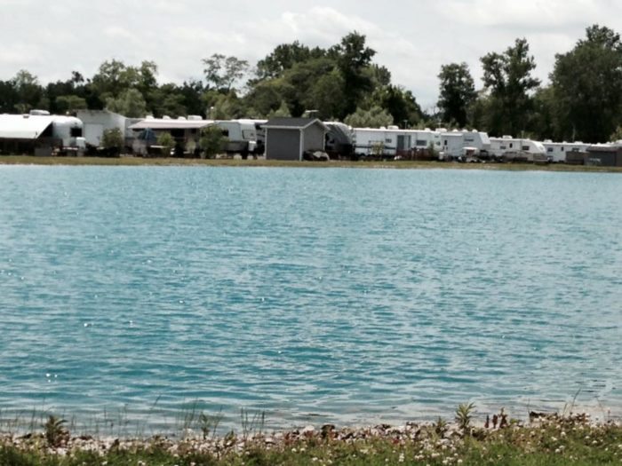 You can even camp close to the quarry. Each site includes a fire ring and picnic table. There are also shower houses, a laundry facility and a camp store for supplies and snacks.
