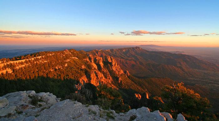 6. Sandia Mountains