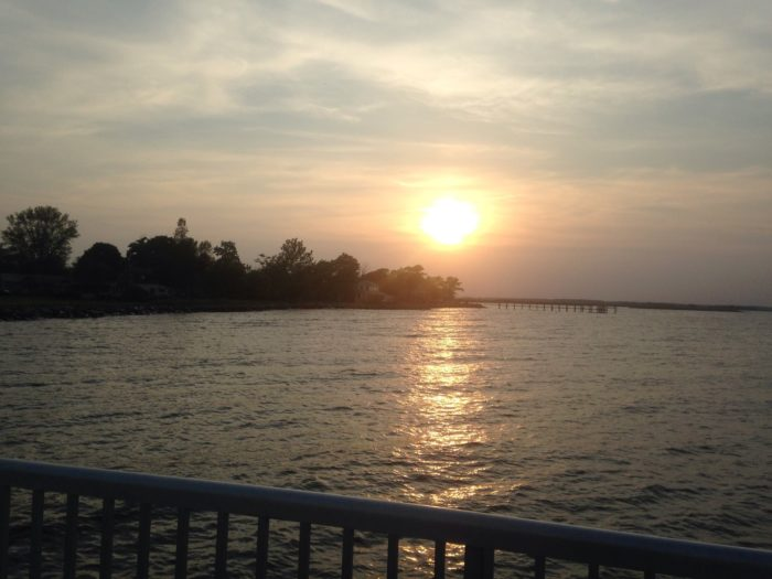 The view from the pier is unrivaled in the state.