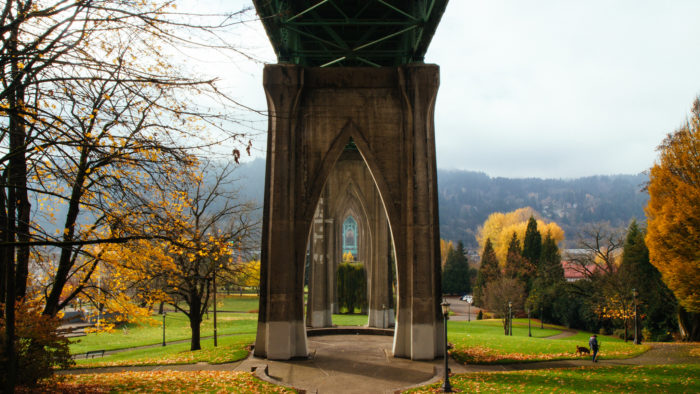 8. Cathedral Park