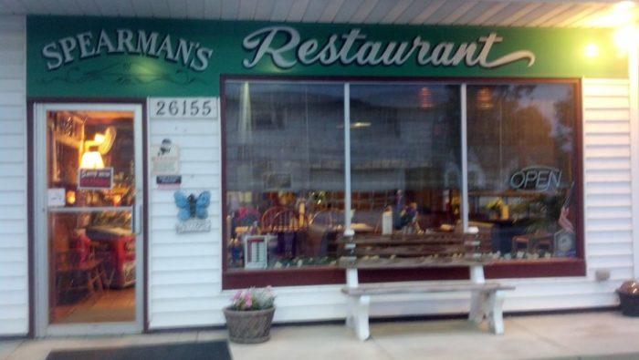 1. Spearman's Restaurant (Howard)