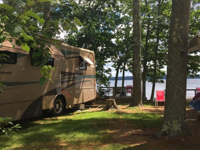 4. Searsport Shores Ocean Campground, Searsport