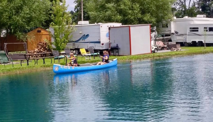 You might even get to participate in canoe races, if you plan your visit strategically.