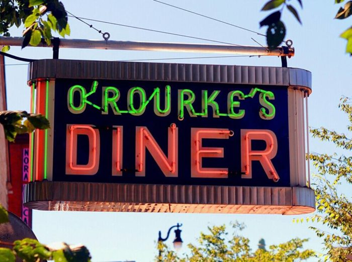 1. O'Rourke's Diner (Middletown)