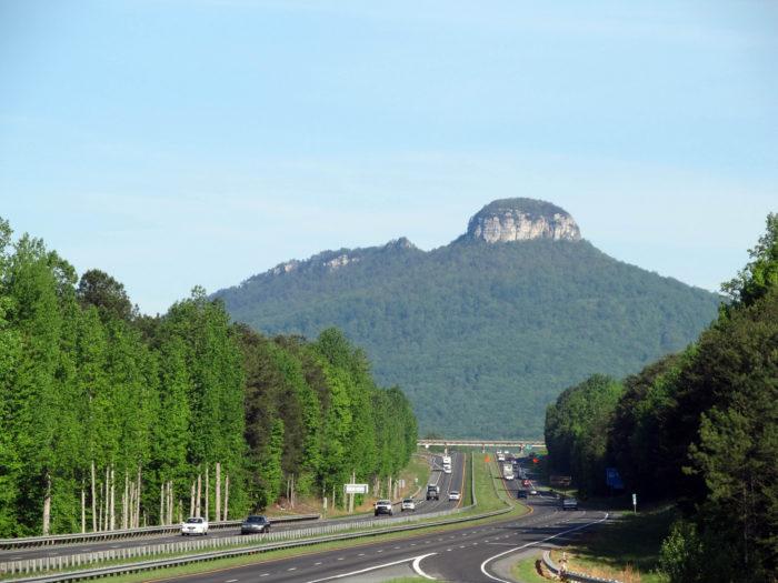 4. Pilot Mountain