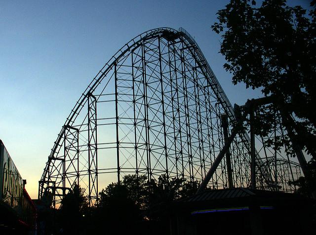 12. Ride a coaster.
