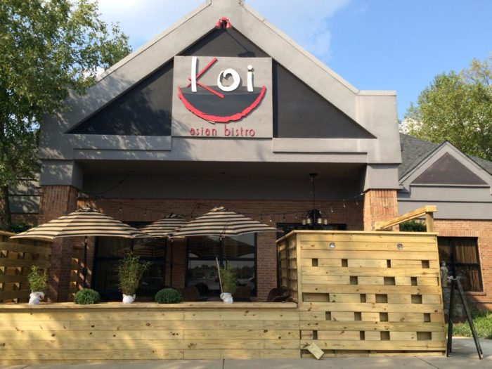 Koi Asian Bistro 115 Pelham Road Suite 15 Greenville Sc 29615