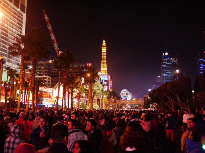 6.Never spend New Year's Eve on the Strip.