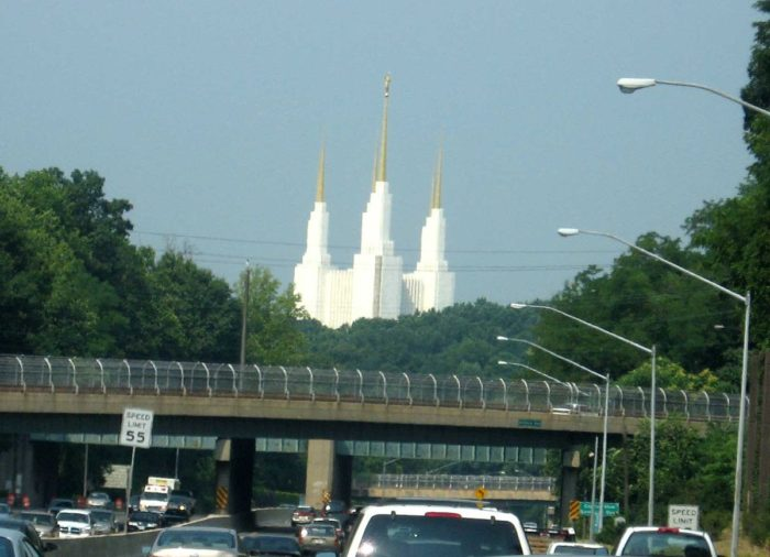 For years, drivers have spotted this grand structure from the beltway, curious as to what it is.