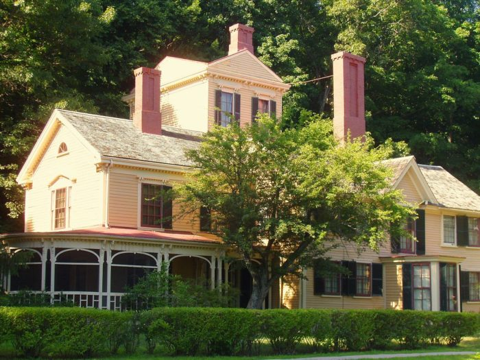 Be sure to stop by the Wayside Inn. It was built in 1717 and was the former home of Louisa May Alcott, author Nathaniel Hawthorne and his family and author Margaret Sidney.