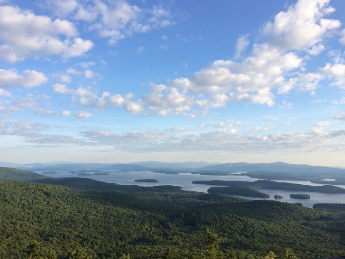 1. Mount Major Trail, Alton Bay