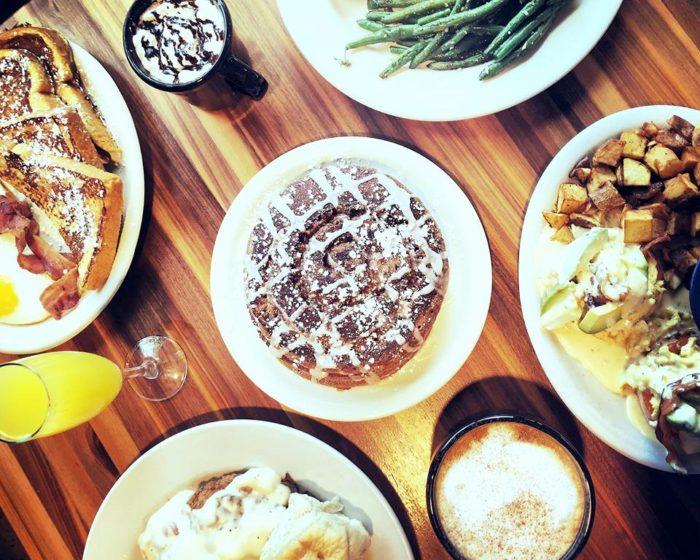 6. Eaten Kerbey Lane Queso for breakfast and pancakes for dinner.