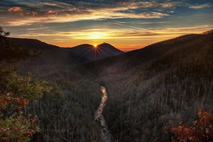 6. Visit the Grand Canyon of the east coast at Linville Gorge. You can catch the best view from Wiseman's Overlook.