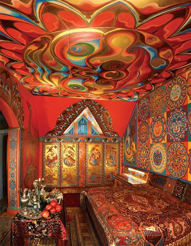 """The museum states that the colorful geometric designs """"may be the key to many secrets of existence."""""""
