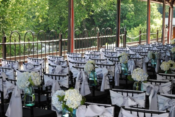 You can also have your nuptials here, making for a wedding to remember.