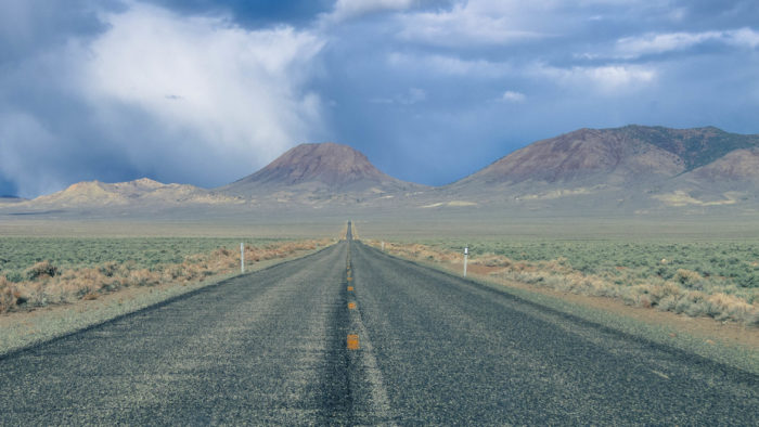 Stretching across 400 miles of Nevada, Highway 50 is downright creepy.