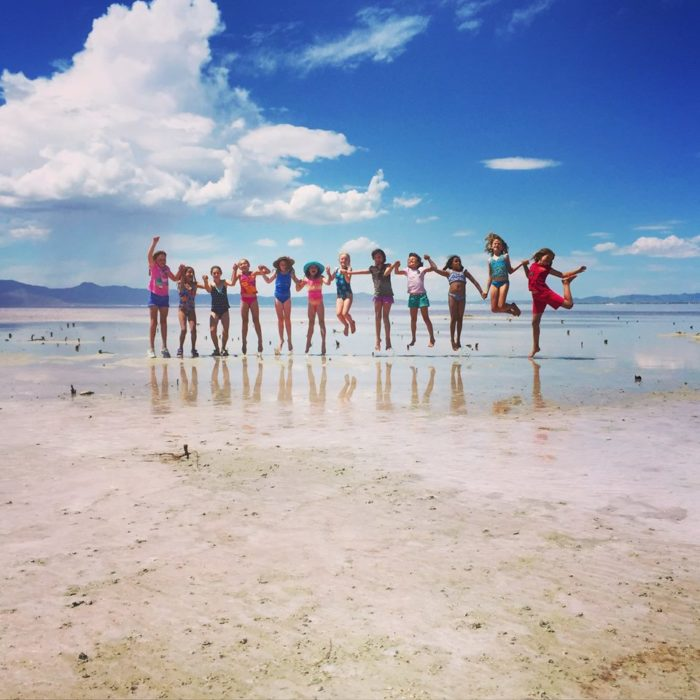 Is there a better way to spend the day than at the beach with your friends?