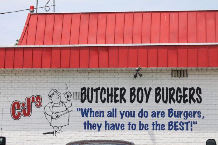 11. CJ's Butcher Boy Burgers (Russellville)