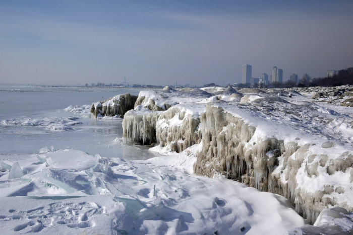 The lakes will likely be frozen solid for most of the winter season…