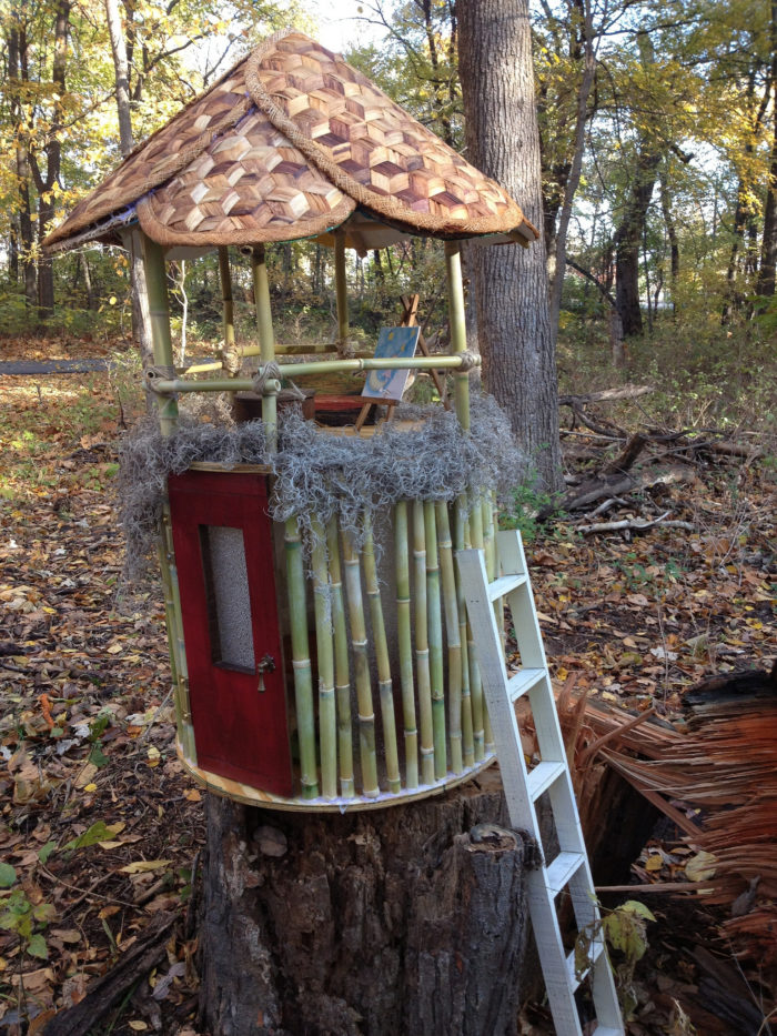 For years, no one knew who was making the charming little homes that kept springing up along Overland Park's Tomahawk Creek Trail... until the Academy Award-winning filmmaker Sharon Liese caught wind of the story and decided to make a documentary about it.