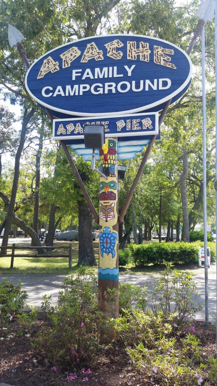 8. Apache Family Campground and Pier