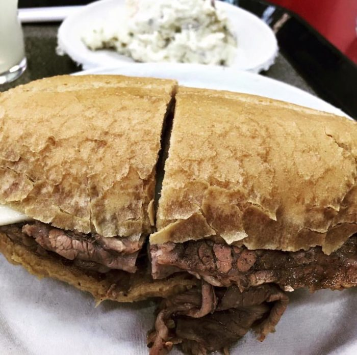 10. French Dipped Sandwich at Philippe the Original