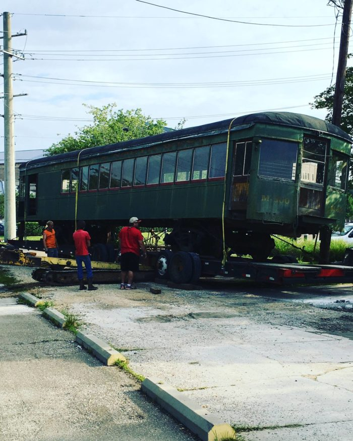 And the best part---they are installing a new dining car for parties!