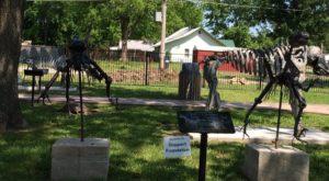 Erie Dinosaur Park In Kansas Is A True Hidden Gem