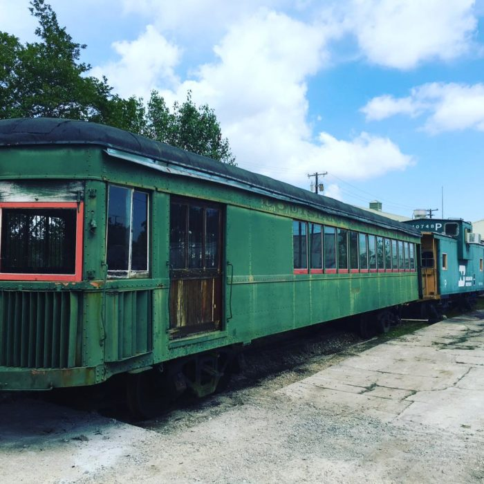 Keeping with the restaurant's train theme, a new dining car will soon add seating for another 30 diners!