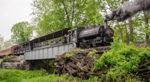 A Ride On This Vintage Train In Maryland Is Perfectly Picturesque