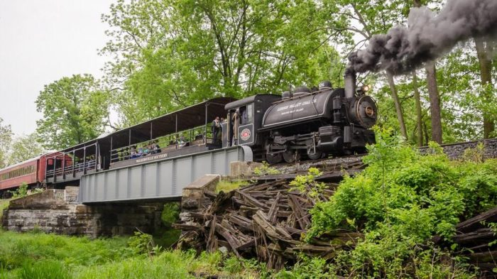 This railroad journey is fun for any age, and is an experience to remember.