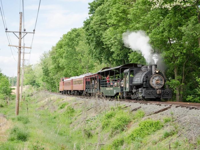 The Walkersville Southern Railroad takes guests on a historic and scenic ride