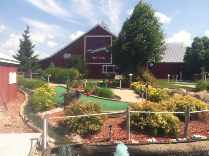 There are even two miniature golf courses for the whole family to enjoy together. (And a driving range for dad to practice his swing.)