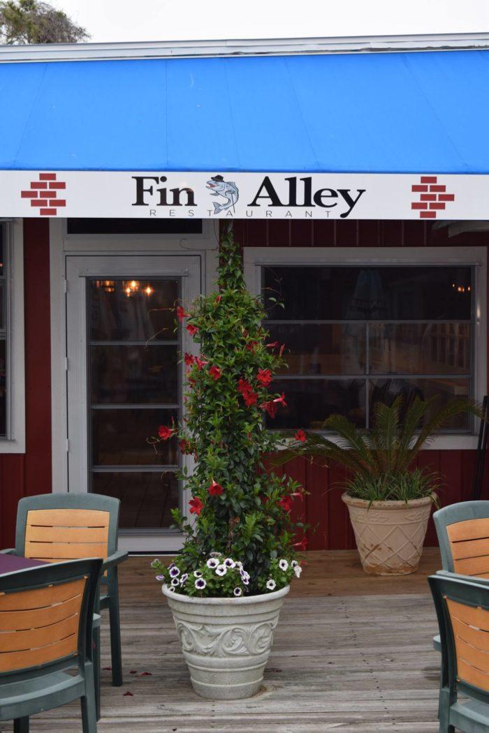 8. Fin Alley, Fenwick Island