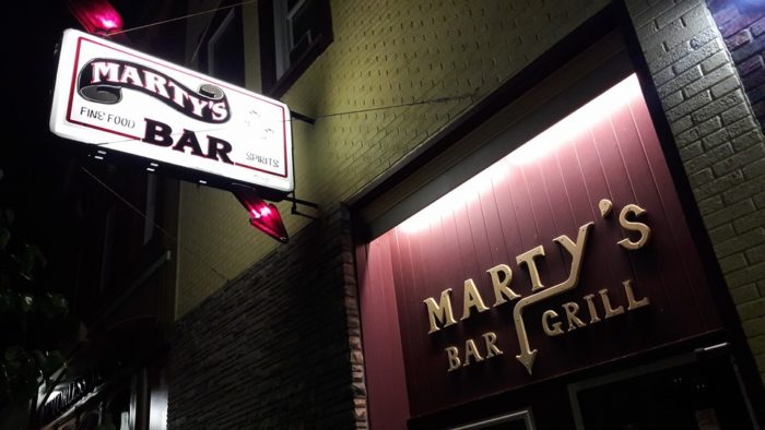 7. Marty's Bar & Grille (123 S Main St, Mt Pleasant)