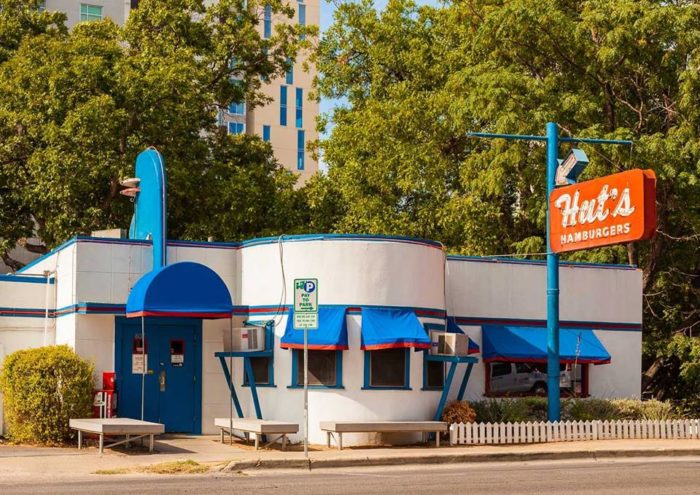 6. Hut's Hamburgers