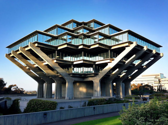 10. The Geisel Library