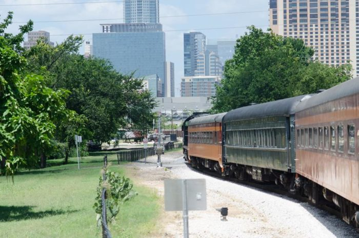 Nothing beats the thrill of hearing the train's whistle as it passes by.