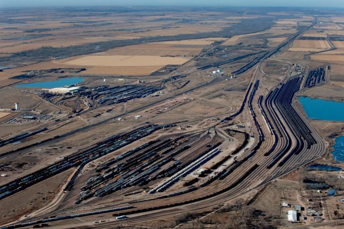 Golden Spike Tower And Bailey Yard In Nebraska Are A One