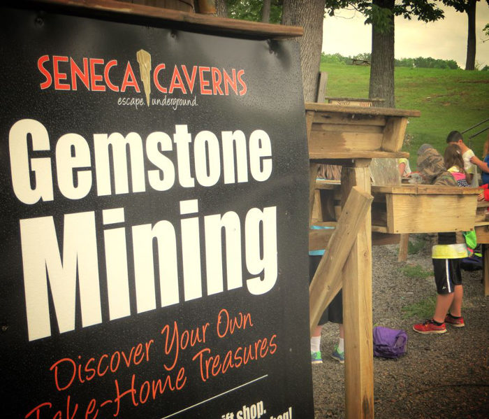 You can also go gemstone mining!