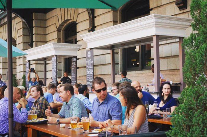 Terminal Bar's Plaza Beer Garden...