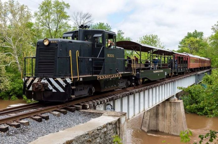 The ride will take you through historic Monocacy Valley, past scenic farms, and over bridges.